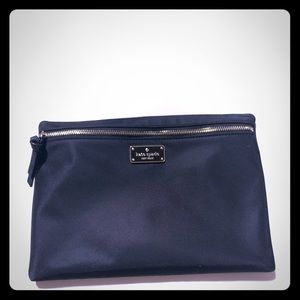 Kate Spade pouch with zipper black color